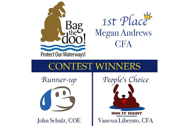 Winner names and logos