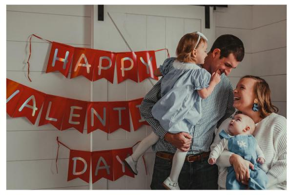 Brian and Lauren Neltner with son Isaac and daughter Ansley. Photos by Haley Raven Photography.