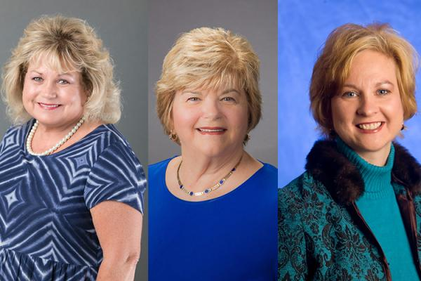 2018 HES Hall of Fame inductees include Marilyn Edwards-Barrick, Gerri Miracle and Amy VanMeter.