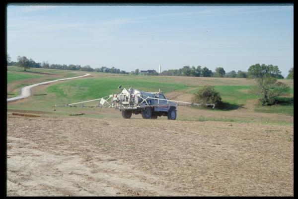 The University of Kentucky Cooperative Extension Service is helping private pesticide applicators get the training they need so they can purchase pesticides and farm during the upcoming growing season. Photo by Ric Bessin, UK entomologist.