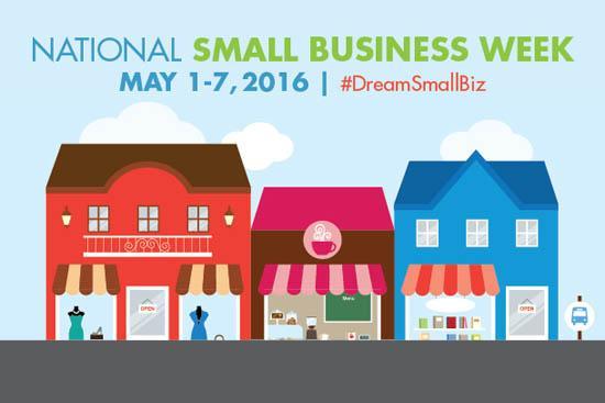 National Small Business Week Logo