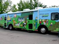 The Community  Center on Wheels brings early childhood development resources directly to residents of Boone County.