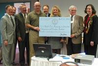 Kentucky Agricultural Development Board receives check