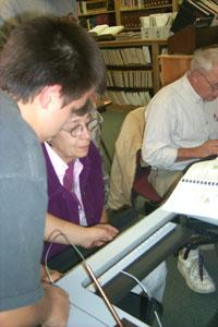 Cyber Seniors/Cyber Teens is designed to provide assess and training to seniors on computers and the Internet.
