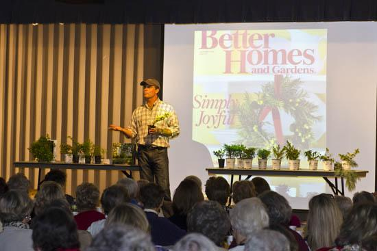 Jon Carloftis speaks at Living Well Seminar