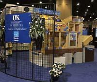 Part of the UK College of Agriculture State Fair Exhibit in 2003.