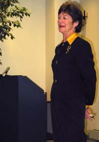 Mary McPhail Gray addressed HEEL leaders at the UK College of Agriculture.